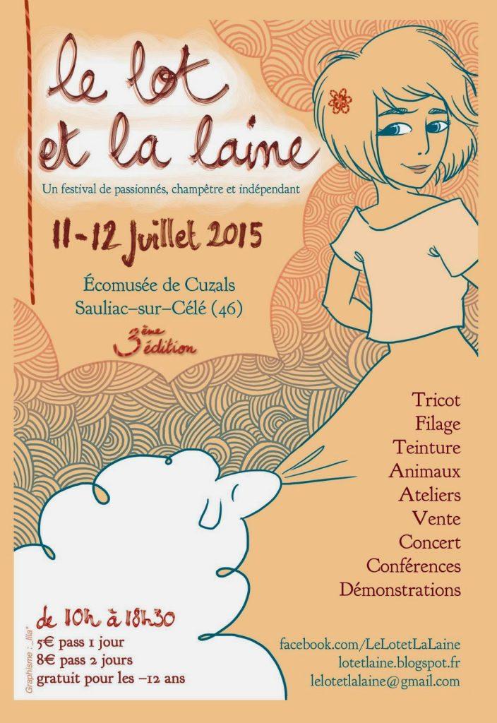 Affiche festival Lot2015